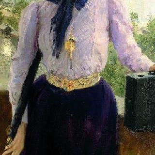 작가 나탈리야 보리소브나 노르드만-세베로바의 초상