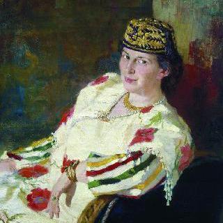예술 후원자 마라 콘스탄티노브나 올리프 백작부인의 초상