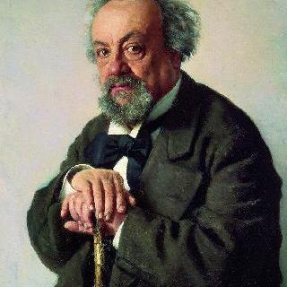 작가 알렉세이 페오필락토비치 피셈스키의 초상