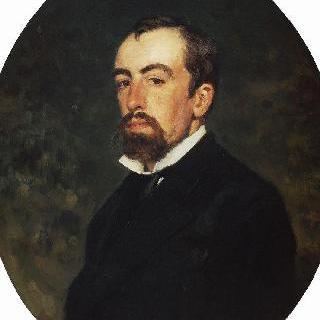 화가 바실리 드미트리예비치 폴레노프의 초상