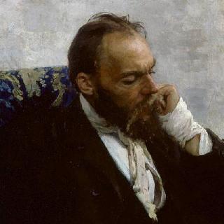 이바노프 교수의 초상 (신원 불명)