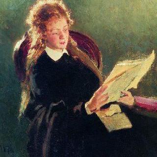 글 읽는 소녀