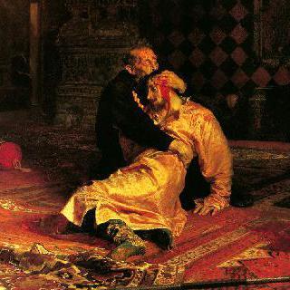 폭군 이반과 그의 아들 이반, 1581년 11월 16일