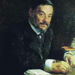 러시아 생리학자, 이반 미하일로비치 세체노프의 초상