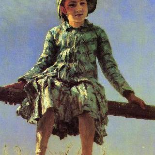 잠자리. 화가의 딸, 베라 레피나의 초상