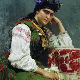 미하일 이바노비치 드라고미로프 장군의 딸, 소피야 미하일로브나 드라고미로바의 초상