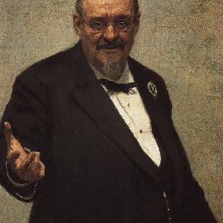 법학자 및 폴란드 문학사가 브워지미에시 스파소비치의 초상