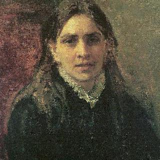 여배우 펠라게야 (폴리나) 안티페브나 스트레페토바의 초상
