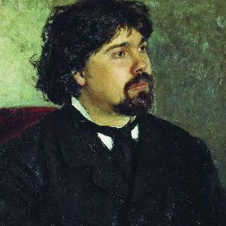 화가 바실리 이바노비치 수리코프의 초상