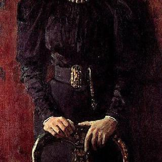 작가의 딸, 타티야나 리보브나 톨스타야의 초상