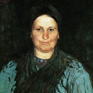 화가의 어머니, 타티야나 스테파노브나 레피나의 초상
