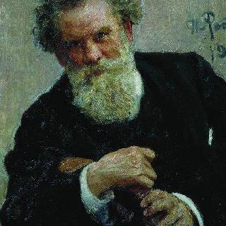 작가 블라디미르 갈락티오노비치 코롤렌코의 초상