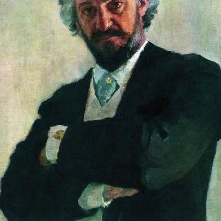 첼로 연주자 알렉산드르 발레리아노비치 베르즈빌로비치의 초상