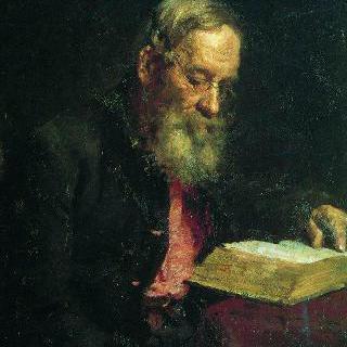 화가의 아버지, 예핌 바실리예비치 레핀의 초상