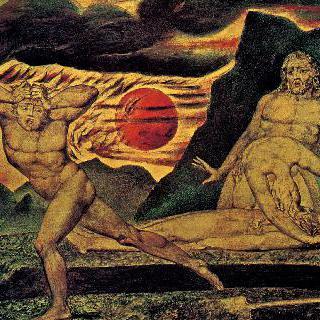 아벨의 시신을 발견한 아담과 이브