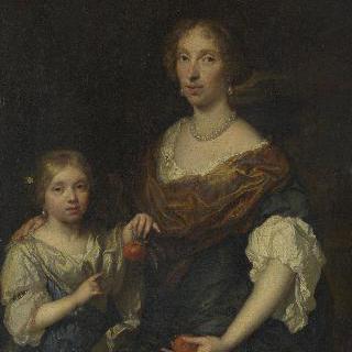 여인과 소녀의 초상