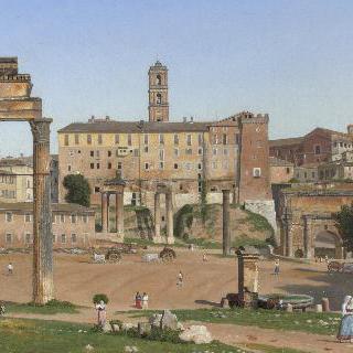 로마의 포룸 풍경