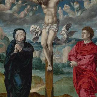 그리스도 수난도 - 세폭화의 중앙 패널