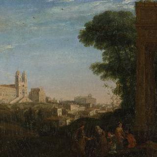 로마 풍경