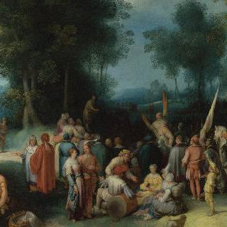 성 세례 요한의 설교