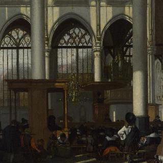 암스테르담, 구교회 아우더 케르크의 내부
