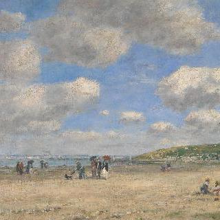 투르제빌-레-사블롱의 해변