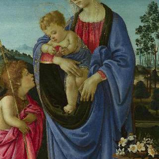 성모와 아기 예수 및 세례 요한