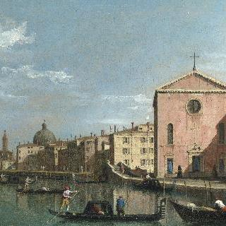 베네치아 - 산타 크로체 성당 쪽으로 본 대운하
