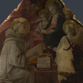성모의 환영을 보는 성 베르나르도