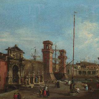 베네치아 - 아르세날레 (조선소 및 병기창)