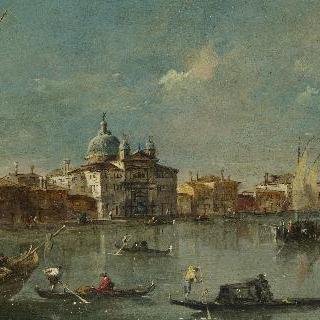베네치아 - 치텔레 성당이 있는 주데카 섬