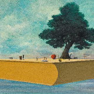 말과 글 - 섬