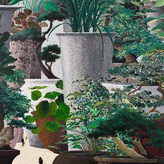말과 글 - 정원