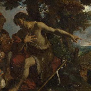 황야에서 설교하는 성 세례 요한