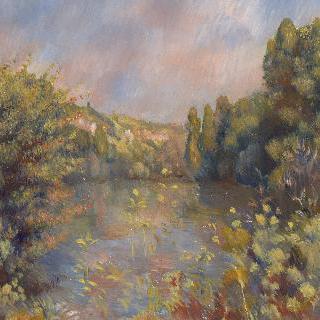 호반 풍경