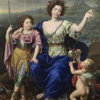 세뉼레 후작부인과 그녀의 두 아들