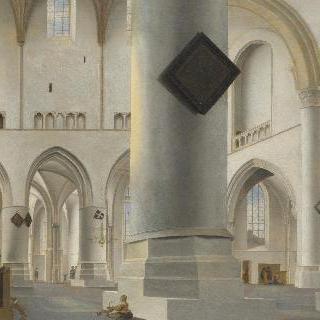 하를럼의 흐로터 케르크 (교회) 내부