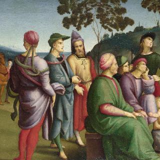 설교하는 성 세례 요한