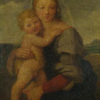 성모와 아기 예수 (매킨토시의 성모)