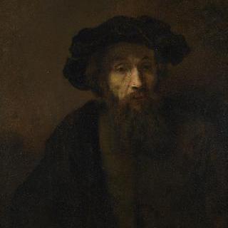 모자를 쓴 수염 기른 남자