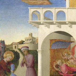성 프란체스코와 가난한 기사, 프란체스코의 환영
