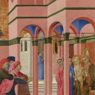 세속의 아버지와 의절하는 성 프란체스코