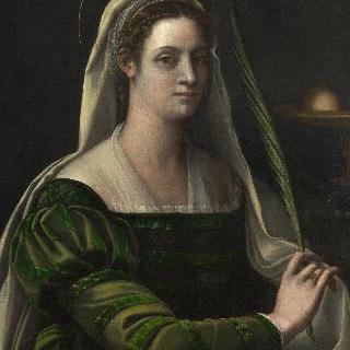 성 아가타의 소지물을 지닌 여인의 초상