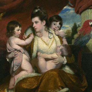 레이디 콕번과 그녀의 첫째, 둘째, 셋째 아들
