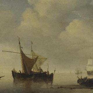 무풍 - 두 척의 네덜란드 배