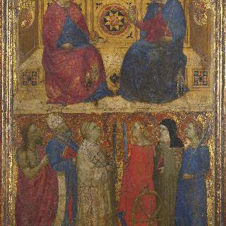 그리스도와 성모와 성인들