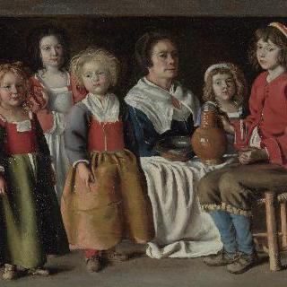 한 여인과 다섯 아이