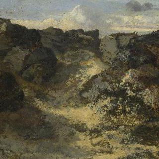 바위지대 풍경