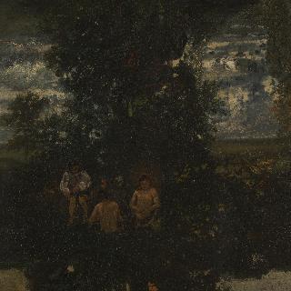 달빛 - 목욕하는 사람들
