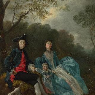화가와 부인과 딸의 초상
